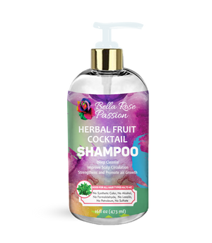 Load image into Gallery viewer, Herbal Fruit Cocktail Hair Shampoo - Bella Rose Passion