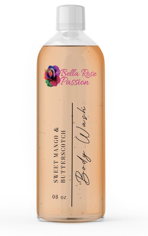 Load image into Gallery viewer, Body Wash ( Sweet Mango Butterscotch ) - Bella Rose Passion