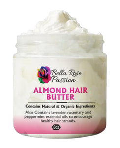 Almond Hair Butter - Bella Rose Passion LLC