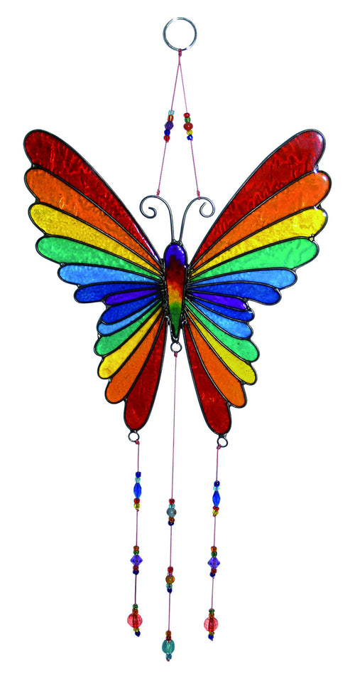 Rainbow Butterfly Sun Catcher