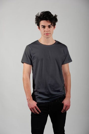 Prairie Traders Fairtrade Organic Cotton Mens/Unisex T-Shirts - Charcoal