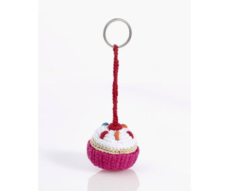 100% Organic Cotton Fairtrade Pixie Doll Rattle - Rose