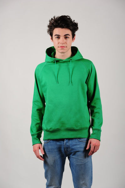 Prairie Traders Fairtrade Organic Cotton Hoodies - Kelly Green
