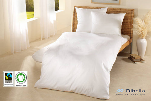 White Duvet Cover Fairtrade Cotton