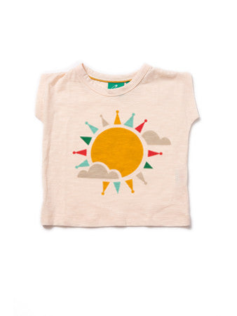 100% Fairtrade Cotton Into the Sun T-Shirt