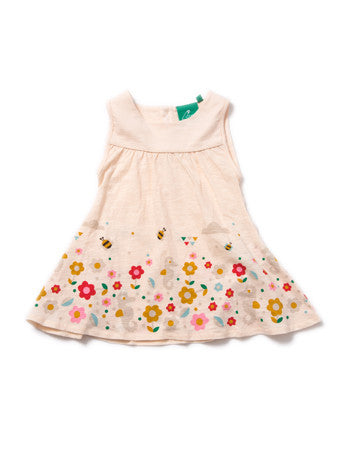 100% Fairtrade Cotton Secret Seahorse Story Time Dress