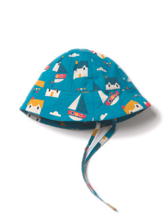 100% Fairtrade Cotton Sail Away Sun Hat