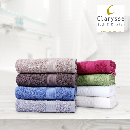 100% Organic Cotton Fairtrade 550GSM Hotel Quality Towel