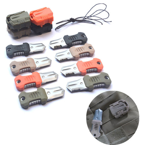 Emergency Gear Cutter Knife Webbing Buckle kit - The Souvenir´s Store