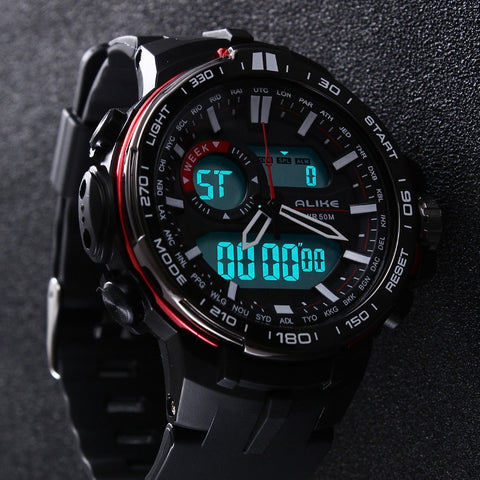 Men G Style Waterproof Military Digital Watch - The Souvenir´s Store