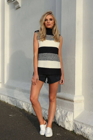 Mathilde Sleeveless Knit Top