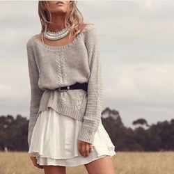 Grey Skies Knit