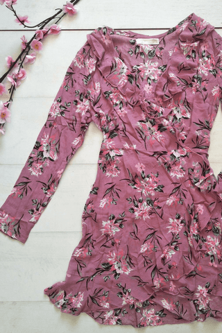 Pinky Promise Wrap Dress