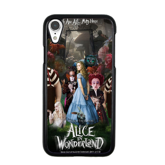 Alice In Wonderland Poster iPhone XR Case | Frostedcase