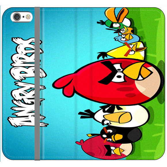 Angry Birds And Friends iPhone 6 Plus|6S Plus Flip Case | Frostedcase