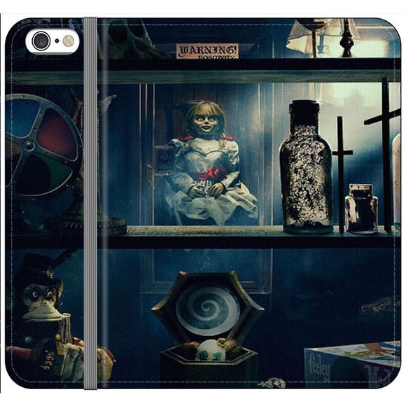 Annabelle Comes Home Doll iPhone 6 Plus|6S Plus Flip Case | Frostedcase