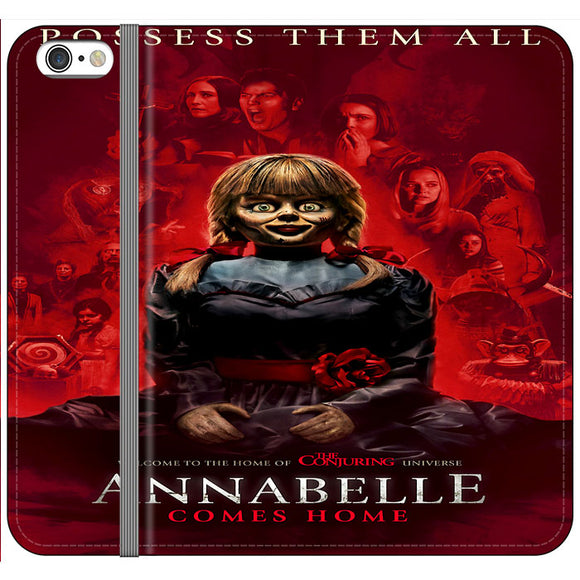 Annabelle Comes Home Movie 2019 iPhone 6 Plus|6S Plus Flip Case | Frostedcase