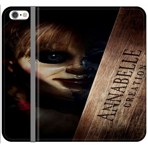 Annabelle Poster Movie Box iPhone 6 Plus|6S Plus Flip Case | Frostedcase