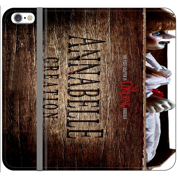 Annabelle The Conjuring Poster Movie Box iPhone 6 Plus|6S Plus Flip Case | Frostedcase