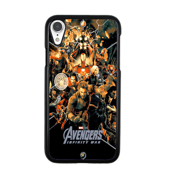 Avengers Inwar Orange iPhone XR Case | Frostedcase