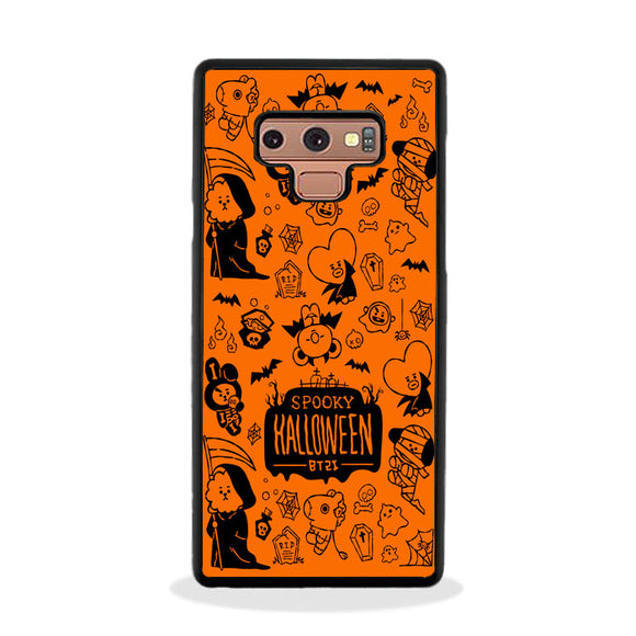 Bt21 Spooky Halloween Samsung Galaxy Note 9 Case | Frostedcase