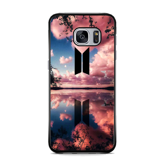 Bts Flower And Cloud Samsung Galaxy S7 Case | Frostedcase