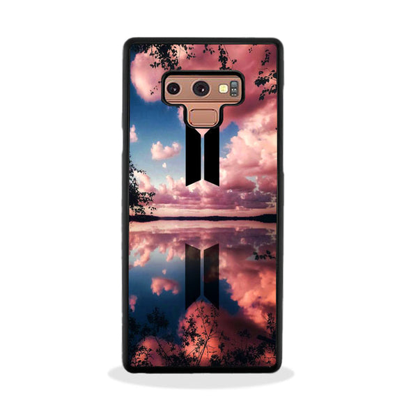 Bts Flower And Cloud Samsung Galaxy Note 9 Case | Frostedcase