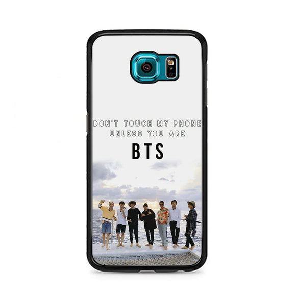 Bts Photoshoot In Sea Samsung Galaxy S6 Case | Frostedcase