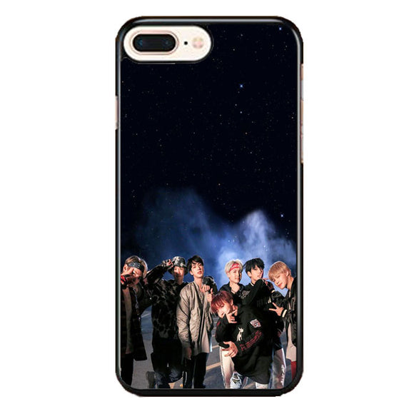 Bts Smoke Night Star iPhone 8 Plus Case | Frostedcase