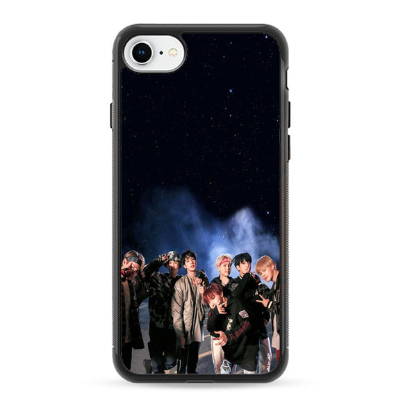 Bts Smoke Night Star iPhone 8 Case | Frostedcase