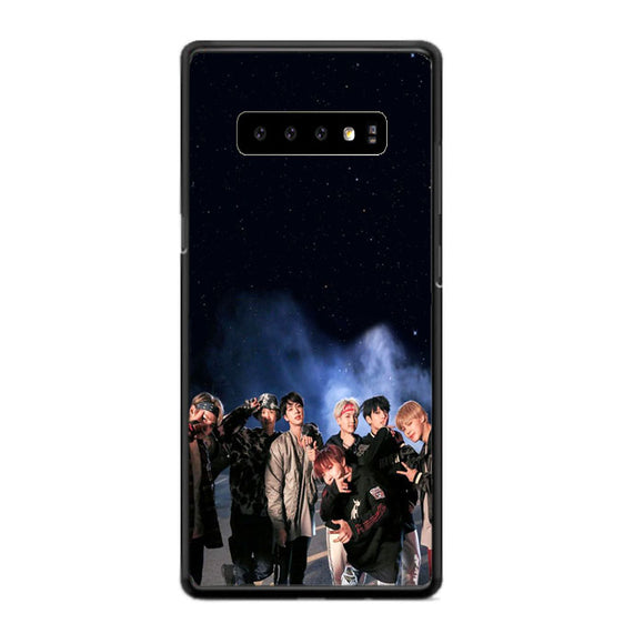 Bts Smoke Night Star Samsung Galaxy S10 Case | Frostedcase