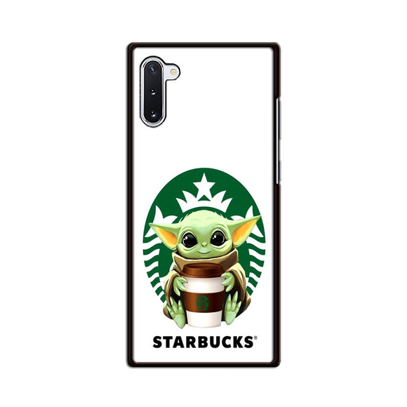 Baby Yoda X Starbucks Coffe Samsung Galaxy Note 10 Case | Frostedcase