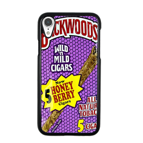 Backwoods Honey Berry Cigars iPhone XR Case | Frostedcase