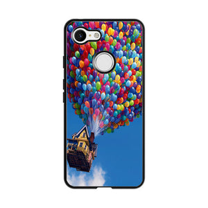 Balloon House Pastel Otterbox Google Pixel 3 Case | Frostedcase