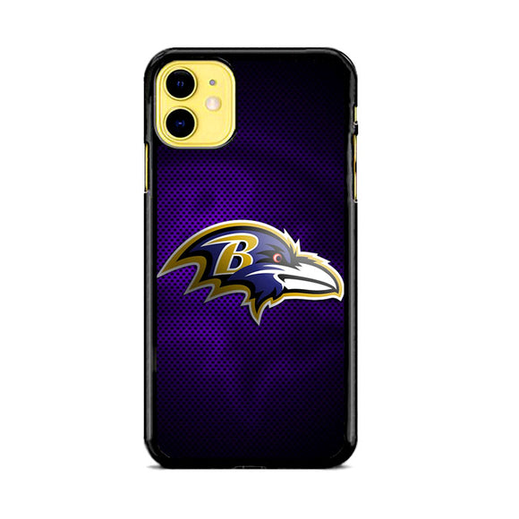 Baltimore Ravens Logo iPhone 11 Case | Frostedcase