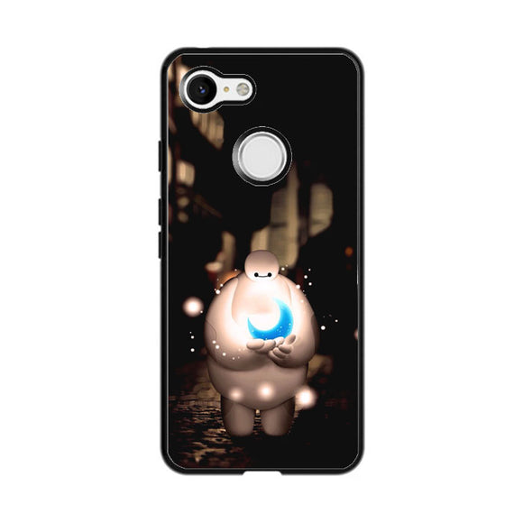 Baymax In The Night Google Pixel 3 XL Case | Frostedcase