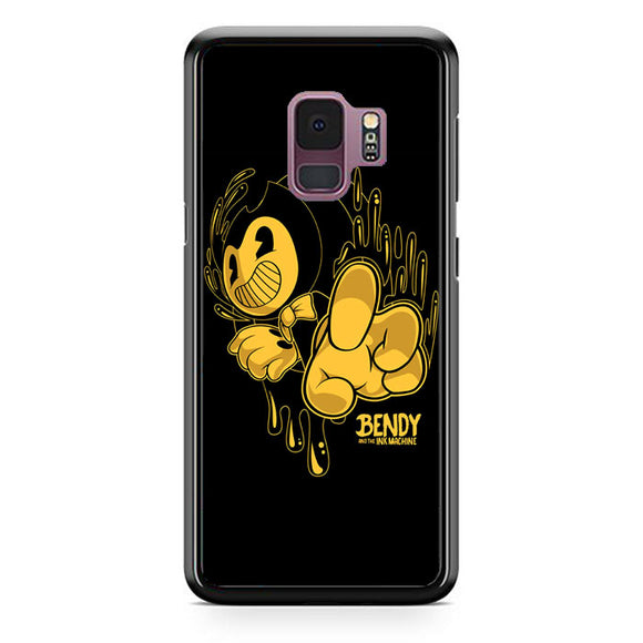 Bendy And The Ink Machine Black Gold Samsung Galaxy S9 Case | Frostedcase