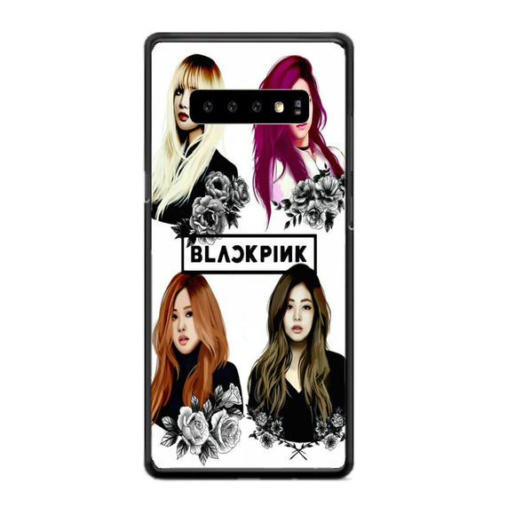 Black Pink Art Samsung Galaxy S10e Case | Frostedcase