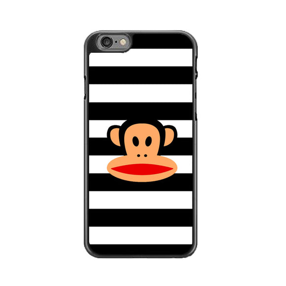 Black White Line X Paul Frank Logo iPhone 6 Plus|6S Plus Case | Frostedcase