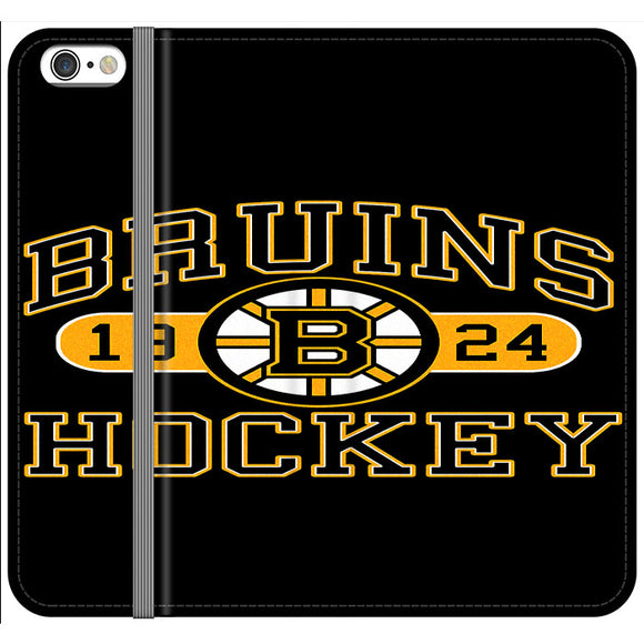 Boston Bruins Hockey Jersey 1924 iPhone 6 Plus|6S Plus Flip Case | Frostedcase