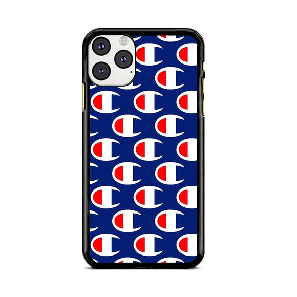 Champion Pattern Blue Art iPhone 11 Pro Max Case | Frostedcase