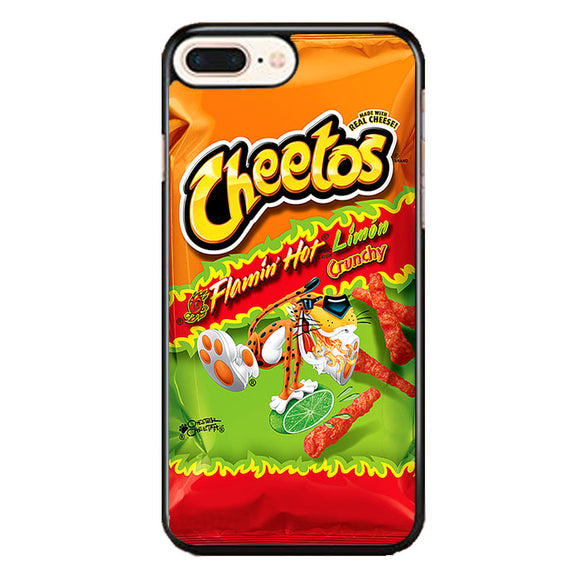Cheetos Flamin Hot Limon Crunchy iPhone 7 Plus Case | Frostedcase