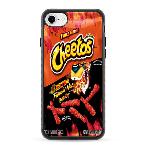 Cheetos Xtra Flamin Hot Crunchy iPhone 8 Case | Frostedcase