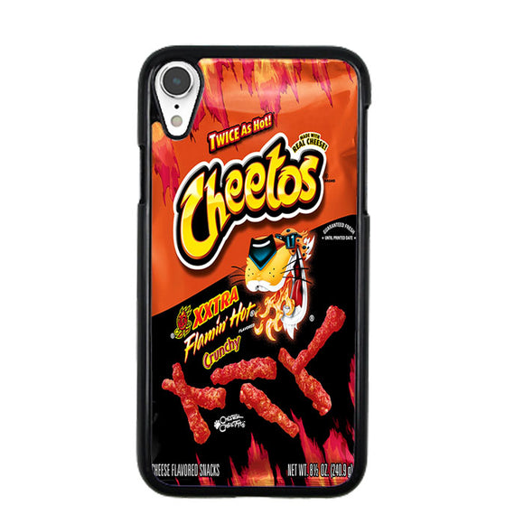 Cheetos Xtra Flamin Hot Crunchy iPhone XR Case | Frostedcase