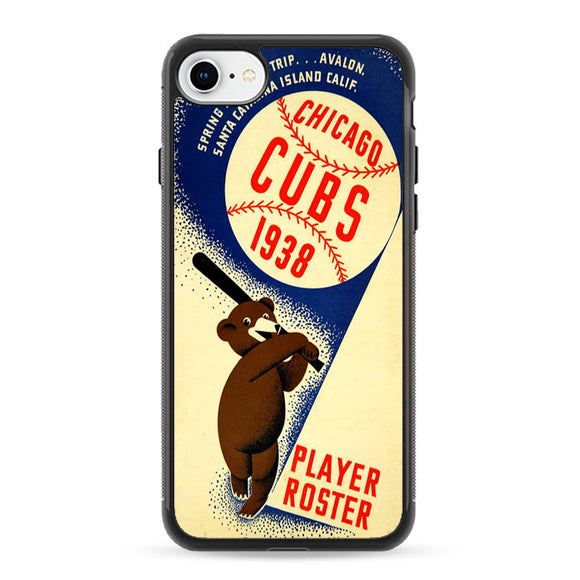 Chicago Cubs Poster 1938 iPhone 8 Case | Frostedcase