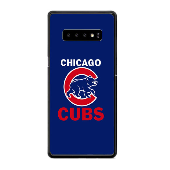 Chicago Cubs Samsung Galaxy S10 Case | Frostedcase