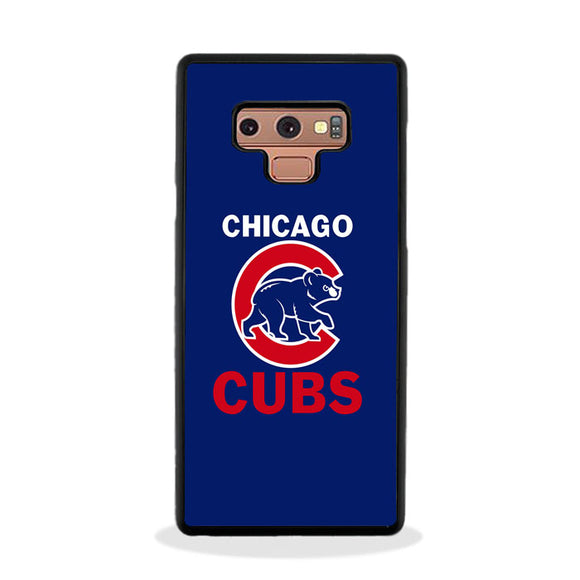 Chicago Cubs Samsung Galaxy Note 9 Case | Frostedcase