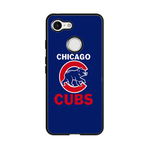 Chicago Cubs Google Pixel 3 XL Case | Frostedcase