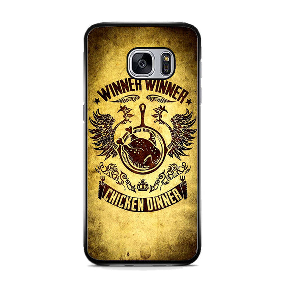 Chicken Dinner Pubg Vintage Samsung Galaxy S7 Case | Frostedcase