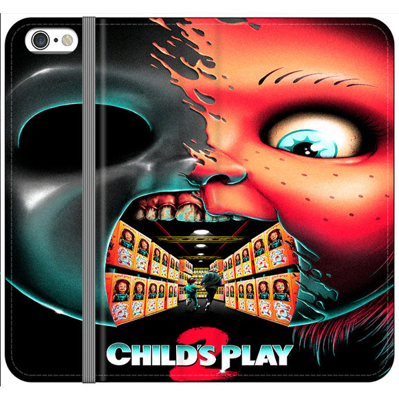 Childs Play 2 Poster Movie Art iPhone 6 Plus|6S Plus Flip Case | Frostedcase